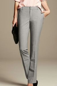 Banana Republic Gray Wool Blend Martin Trouser NWT